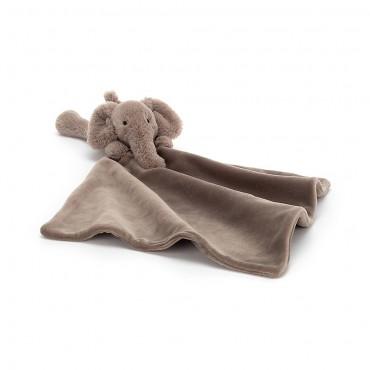 Shooshu Elephant Soother - Jellycat - Trésors d'Enfance Rodez