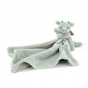 Bashful Dragon Soother - Jellycat - Trésors d'Enfance Rodez