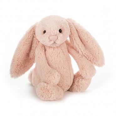 Peluche Lapin : Small Blush Bashful Bunny - Jellycat Trésors d'Enfance à Rodez