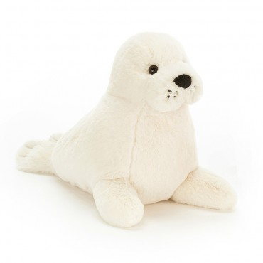 Peluche Phoque : Rafferty Seal Pup médium - Jellycat - Trésors d'Enfance à Rodez