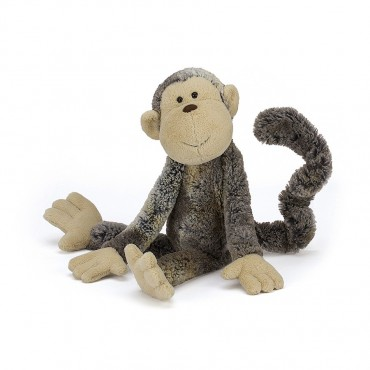 Peluche Singe : Mattie Monkey 31cm - Jellycat - Trésors d'Enfance à Rodez