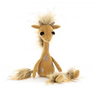 Peluche Girafe : Swellegant Gina Giraffe 35 cm - Jellycat - Trésors d'Enfance à Rodez