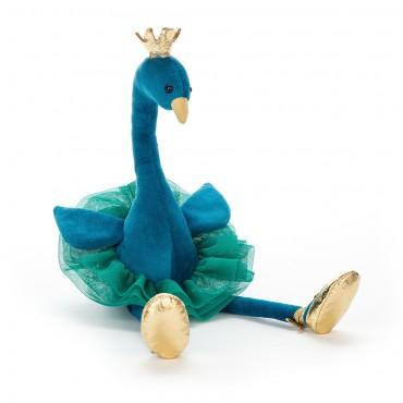 Peluche Paon : Fancy Peacock - Jellycat - Trésors d'Enfance à Rodez