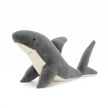 Peluche requin : Shadow Shark - Jellycat - Trésors d'Enfance à Rodez