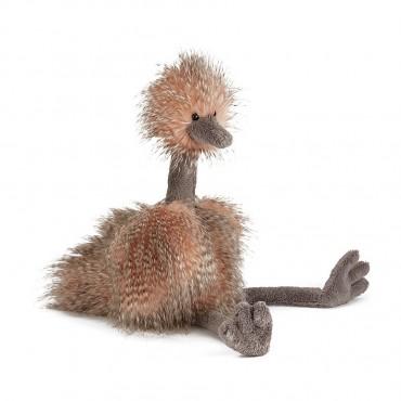 Peluche Autruche 70 cm : Odette Ostrich - Jellycat - Trésors d'Endance à Rodez