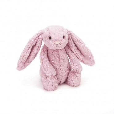 Peluche Lapin 31 cm - Bashful Tulip Bunny Medium - Jellycat - Trésors d'Enfance à Rodez