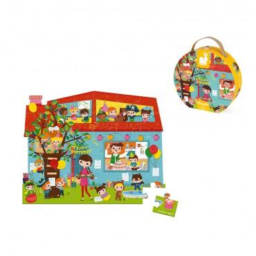 Valisette Puzzle Anniversaire 36 pcs - Janod - Trésors d'Enfance à Rodez