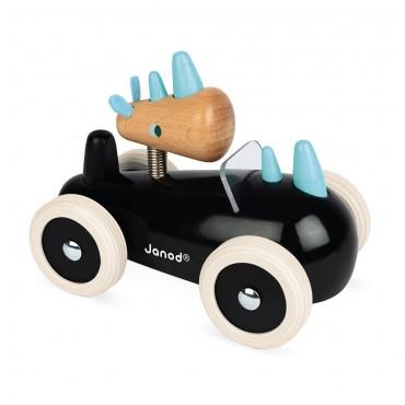 Spirit Car Rony, voiture en bois - Janod - Trésors d'Enfance à Rodez