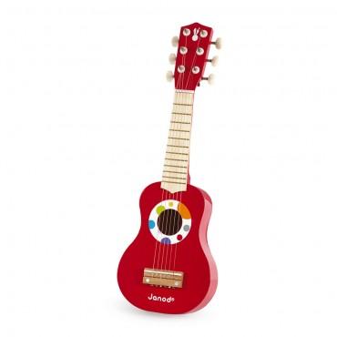 Ma première Guitare Confetti - Janod - Trésors d'Enfance à Rodez