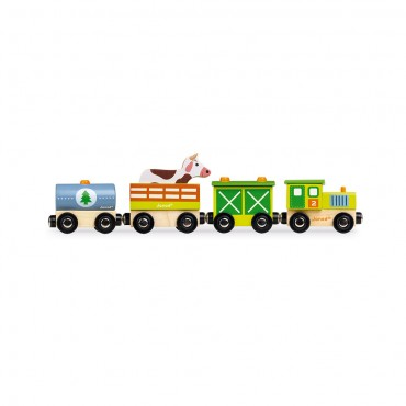 Story Train Ferme - Janod - Trésors d'Enfance à Rodez