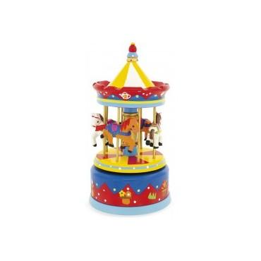 Carrousel : Rouge - Ulysse Couleurs d'Enfance - Trésors d'Enfance à Rodez-bébé-cadeau-enfant-naissance-mélodie-berceuse