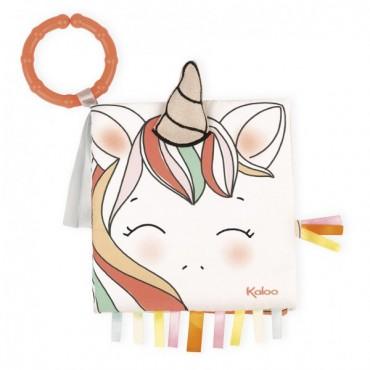 Livre d'éveil : La Licorne Joyeuse - Kaloo - Trésors d'Enfance à Rodez