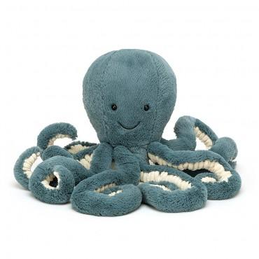 Peluche Poulpe 49 cm : Storm Octopus - Jellycat -Trésors d'Enfance à Rodez