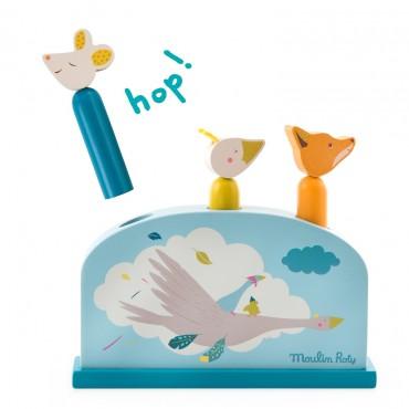 Pop up : Le voyage d'olga - Moulin Roty - Trésors d'Enfance à Rodez-jeu d'adresse-jeu d'éveil-jouet en bois-bébé-enfant-cadeau-