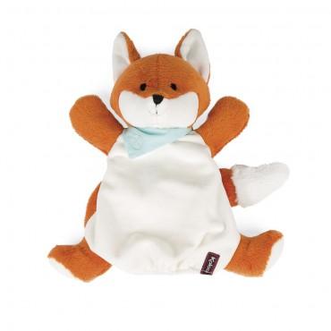 Doudou marionnette Paprika le Renard - Trésors d'Enfance à Rodez-jouets-jeux-peluche-cadeau-enfant-bébé