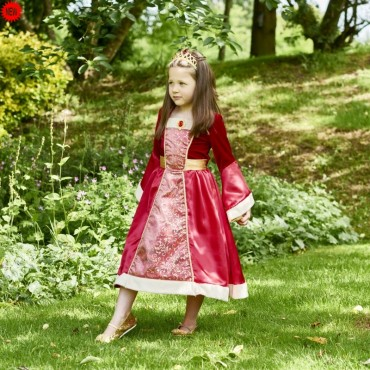 Robe de princesse Médiéval 6/8 ans - Travis Design - Trésors d'Enfance à Rodez-jeux-jouets-bébé-enfant-déguisement fille